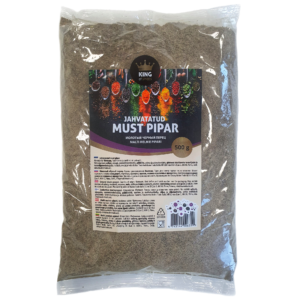 King of Spices jahvatatud must pipar, Ground black pepper